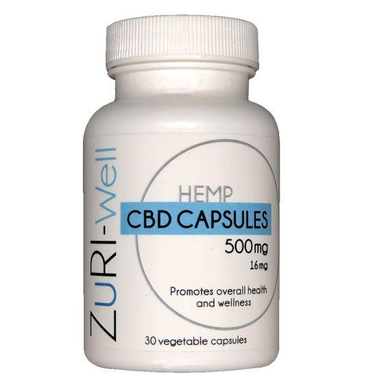 ZuRI™ CBD Wellness Capsules 30ct