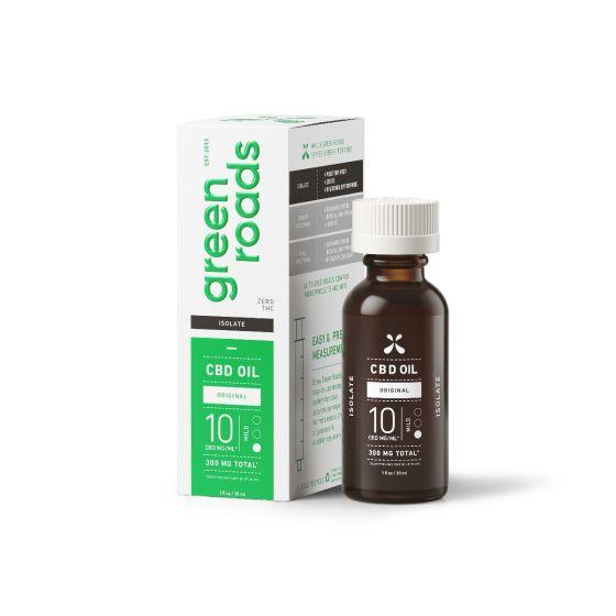 Green Roads® Isolate CBD Oil – 30ml, 50mg