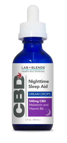 Lab+Blends™ 540 MG CBD Dream Drops Sleep Aid 2 oz.