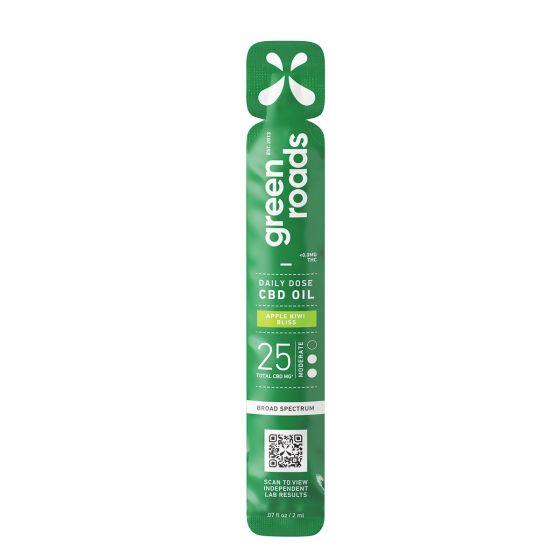 Green Roads® Broad Spectrum CBD Daily Dose Sublingual Oil