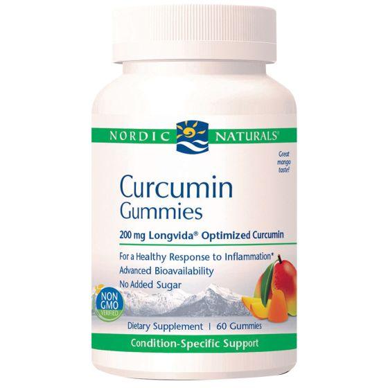 Nordic Naturals® Curcumin Gummies – 60 Gummies