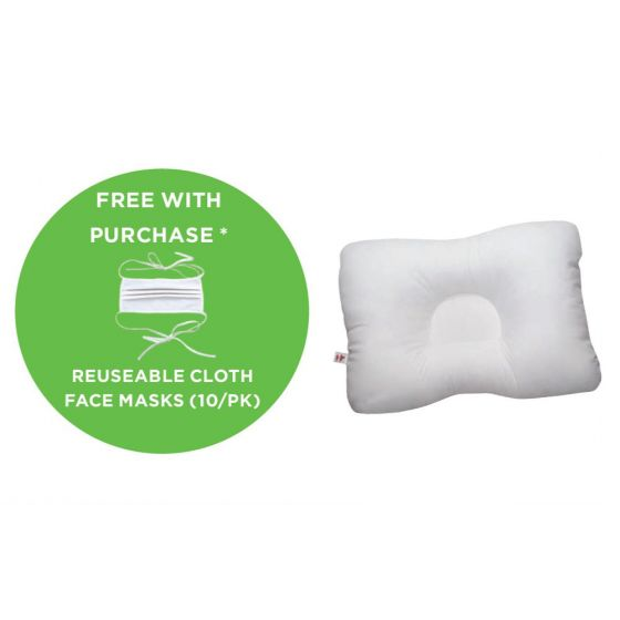 Buy 6 Midsize D-Core® Pillows Get Core Products® Layered Cloth Face Mask 10pk Free