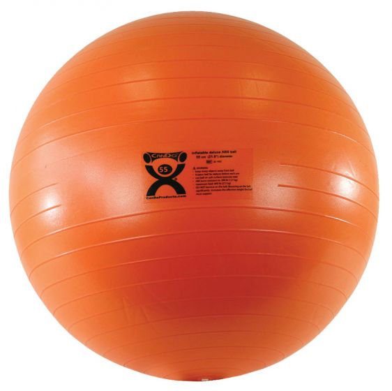 Cando Deluxe Abs Inflatable Exercise Ball
