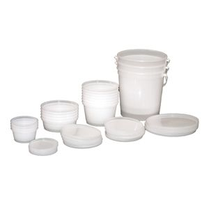 Containers for Putty with Lid – 1 lb. 10 Count