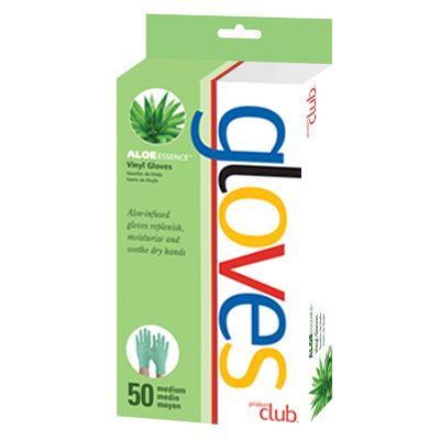 Product Club Aloe Vinyl Gloves - 50Ct
