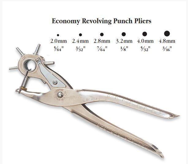 Economy Revolving Punch Pliers