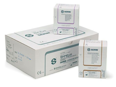 SEIRIN® L-Type Acupuncture Needles - 100/Box