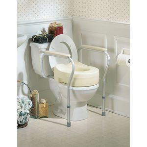 Invacare® Toilet Safety Frame & Safety Rails