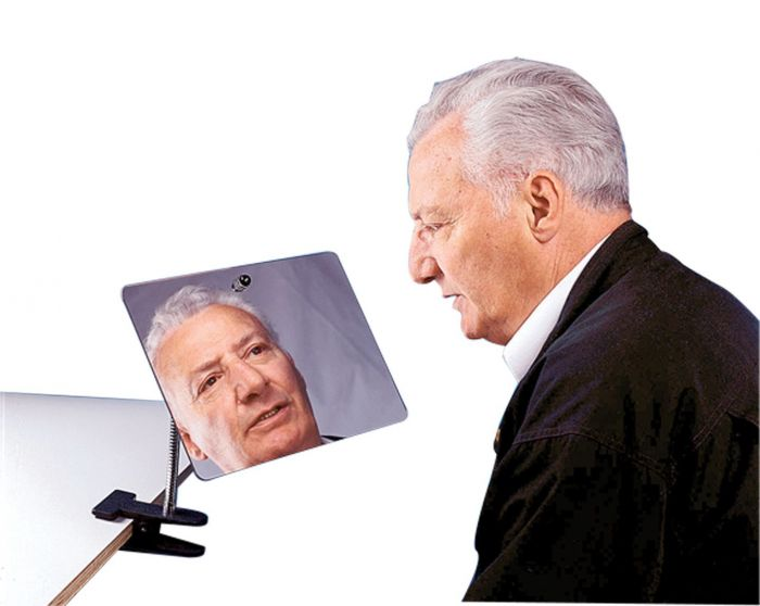 Clamp-On, Adjustable Mirror
