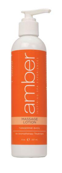 Amber Tangerine Basil Massage Lotion