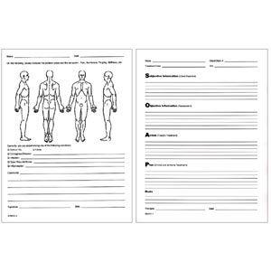 Soap Notes Client Visit Form Pack Of 100