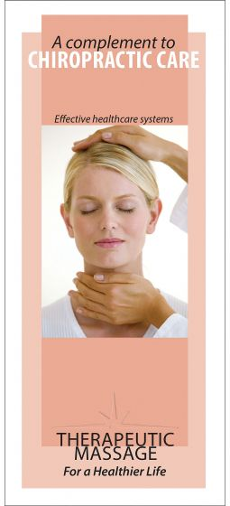 Massage A Complement To Chiropractic Brochure 50Pk
