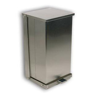 C-32 Detecto Stainless Steel Step-On Can