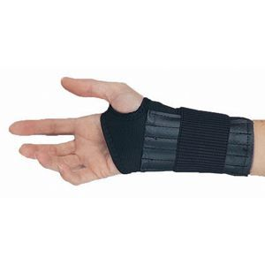 Elastic Wrist Support With Spiral Stays