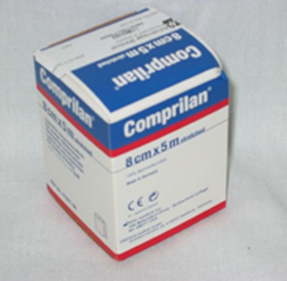 Comprilan Cotton Short Stretch 8Cm Compression Bnd