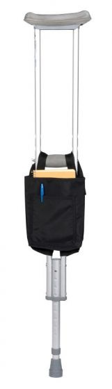 Crutch Bag - Vinyl, Black