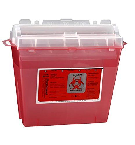 5 Qt Sharps Container