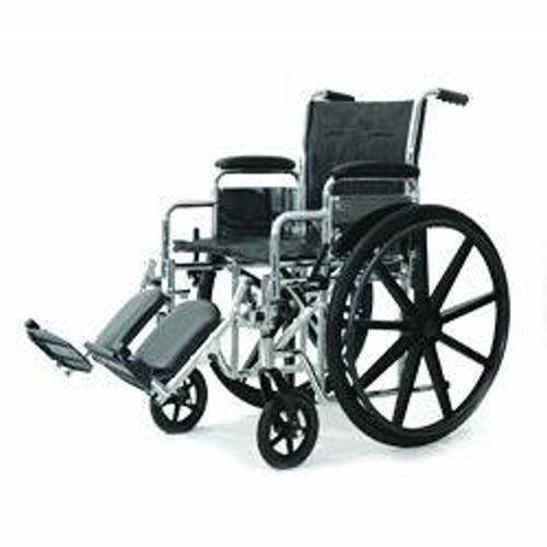 Standard DX Wheelchair with Detachable Desk Arm & Elevating Legrest
