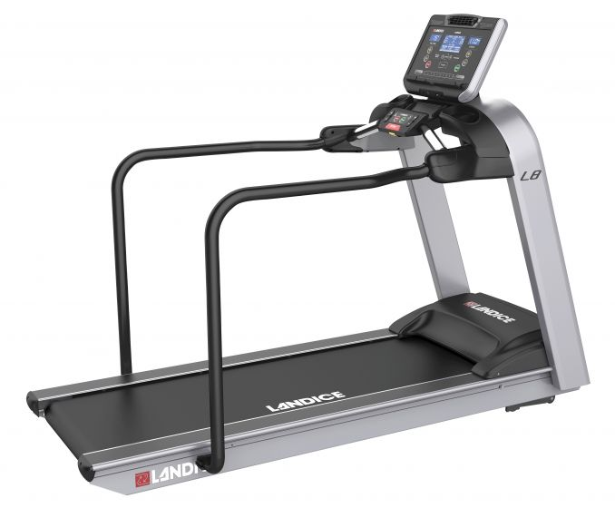 Landice L890 Rehab Treadmill W/Medical Handrails