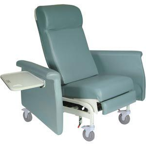 Elite Carecliner W/Dual Swing Arms, Msg & Heat