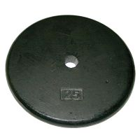 Iron Disc Weight Plate - 25 Lb. Ea