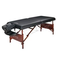 "Master® Massage Equipment 30"" Del Ray™ Portable Massage Table Package Black"