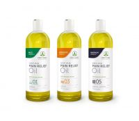 CBD CLINIC™ Deep Rub Pain Relief Oils
