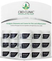 CBD CLINIC™ Fully Loaded Display-Level 5 (15 Jars)