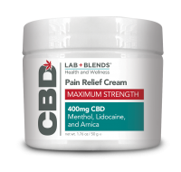 Lab Blends™ CBD Massage Cream - 7.2 oz