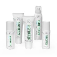 Biofreeze® Proffesional Buy 28 Tubes & 10 360° Sprays, GET a Mix of 10 FREE