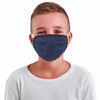 Core Products® Reversible Layered Cloth Face Mask – Petite/Youth, Navy/Gray