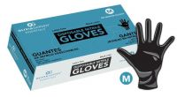 Olivia Garden® Disposable Black Nitrile Gloves