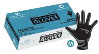 Benchmark Disposable Black Nitrile Gloves - Large