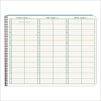 "2020 Appointment Books - 8.5"" x 11"" - 15 Minute Intervals"