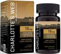 Charlotte's Web™ 15mg CBD Oil Liquid Capsules