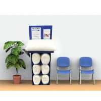 PILLOW of HEALTH® Show Room Display Kit with 7 ChiroElite Queen Adjustable Pillows