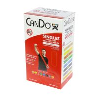 CanDo® Latex Free Exercise Band 5' Length – Box/30