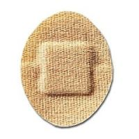 """Coverlet Latex Free Bandages, 1.25""""Oval, 100/Box"""