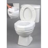 Basic Open Front Raised Toilet Seat with Closed Front Option