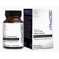 PlusCBD Oil Softgels Maximum Strength Formula 50mg