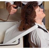 Shoulder Mounted Shampoo Rinse Tray