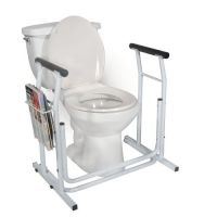 Stand Alone Toilet Safety Rail Case of 2
