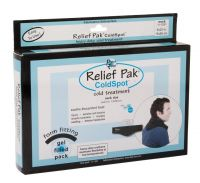 Relief Pak® Re-usable Cold Packs - Heavy Duty, Black Urethane Cold Packs