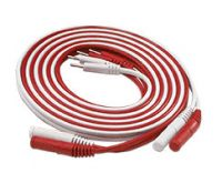 Richmar Red Stereo To Pin Ends Lead Wire Set Of 2