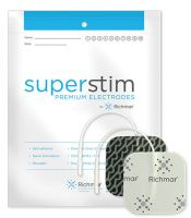Super Stim Electrodes with Silver Matrix Foam 4/Pkg