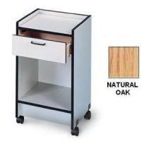 Hausmann Mobile Cabinet Cart With Drawer