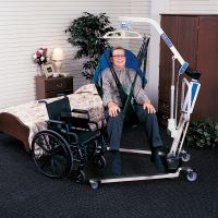 Invacare Reliant Divided Leg-Slings W/Headrest