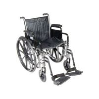 Drive Silver Sport 2 Wheelchair with Desk Arms