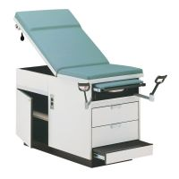 Hausmann Exam Table Right Hand Drawer