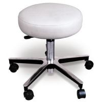 """Stool Galaxy Long Cylinder 22-29"""" Deluxe Chrome"""